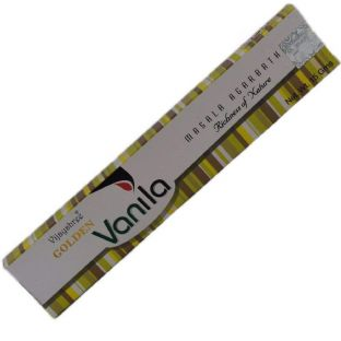 Vijayshree Golden Vanila Masala Incense Sticks (1 x 15g box)